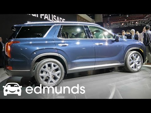 The 2020 Hyundai Palisade Looks Great But Is There a Catch? | First Look | Edmunds