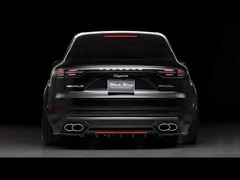 New Porsche Cayenne Sports Line Black Bison Edition by Wald