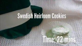 Swedish Heirloom Cookies Recipe