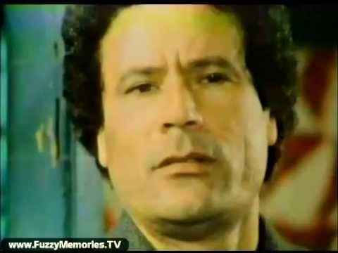 Libya's Gaddafi in 1980