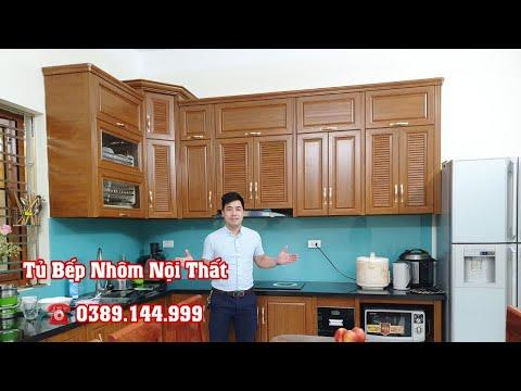Tủ Bếp Nhôm Nội Thất  Omega Giá Rẻ Tại Hà Nội | Dũng Tủ Bếp Nhôm Kính