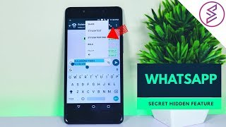 WhatsApp Secret Hidden Feature