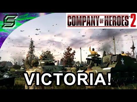 Company of Heroes 2 The Western Front Armies - Multijugador - US forces - Gameplay en español