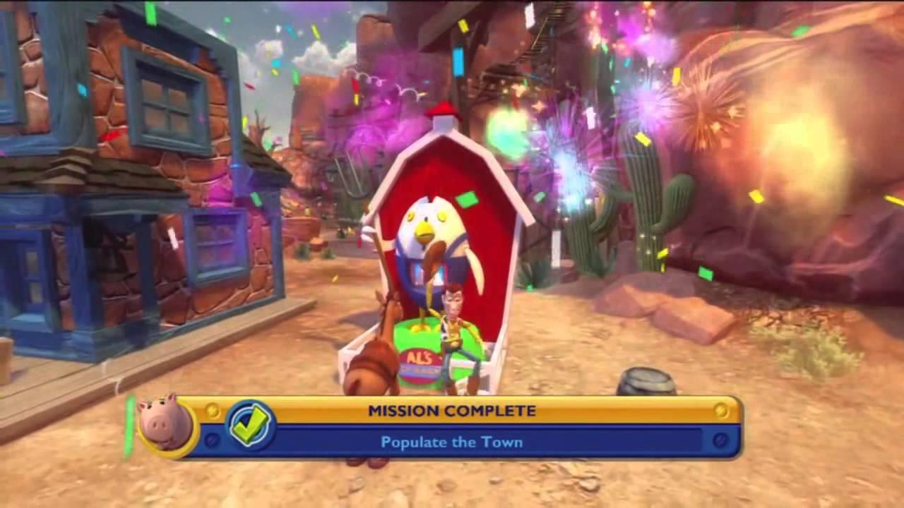 Scarecrow Toy Story 3 Game : Disney game toy story xbox part