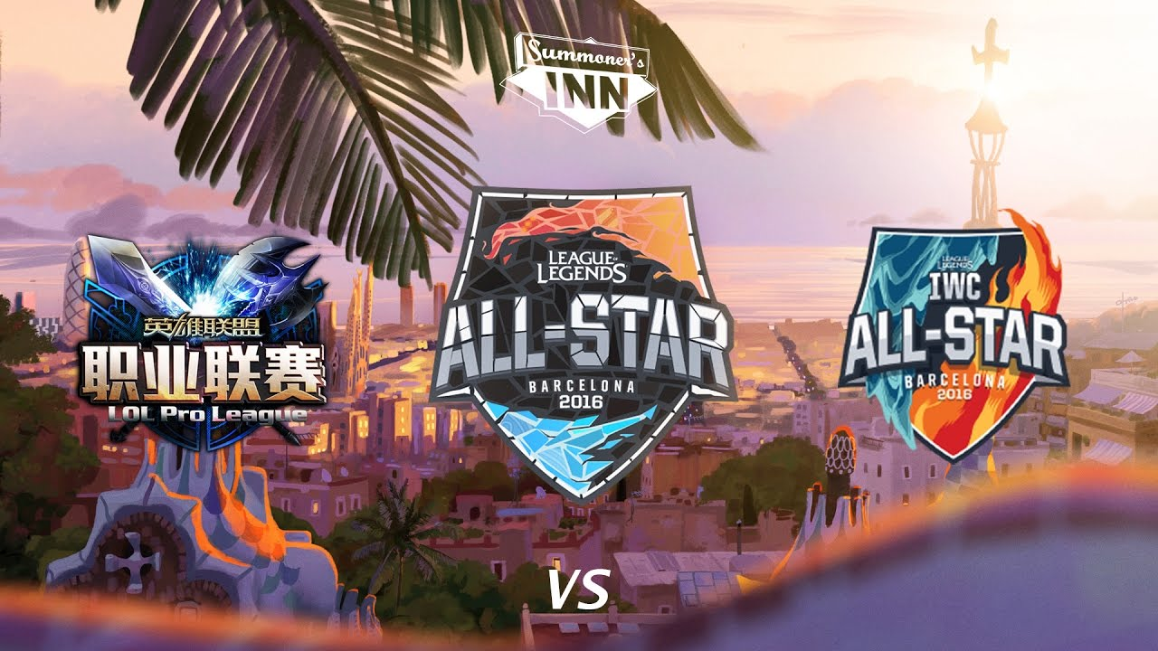 30ba1462b8f8 LPL All-Stars vs. IWC All-Stars - All-Star Barcelona 2016 - YouTube