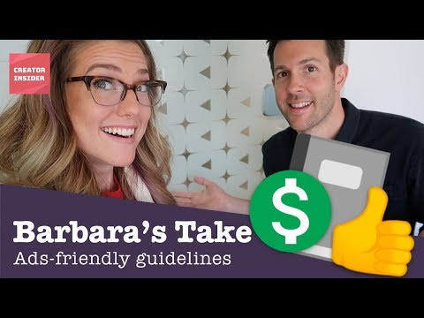 Ads Friendly Guidelines - Barbara's Take