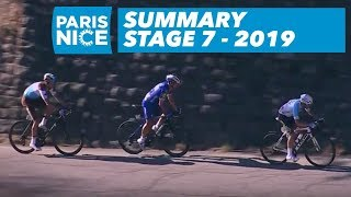 Summary - Stage 7 - Paris-Nice 2019