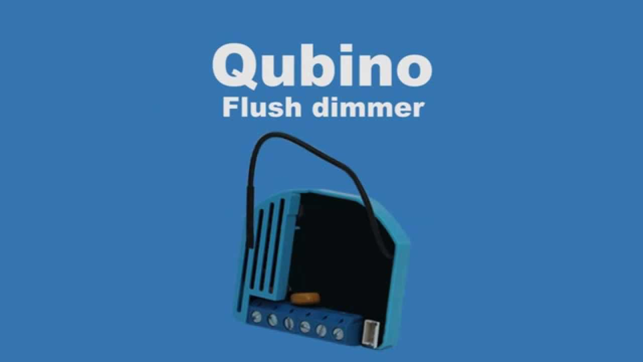 Qubino Flush Dimmer Z Wave Module Dimming A 24v Dc Led