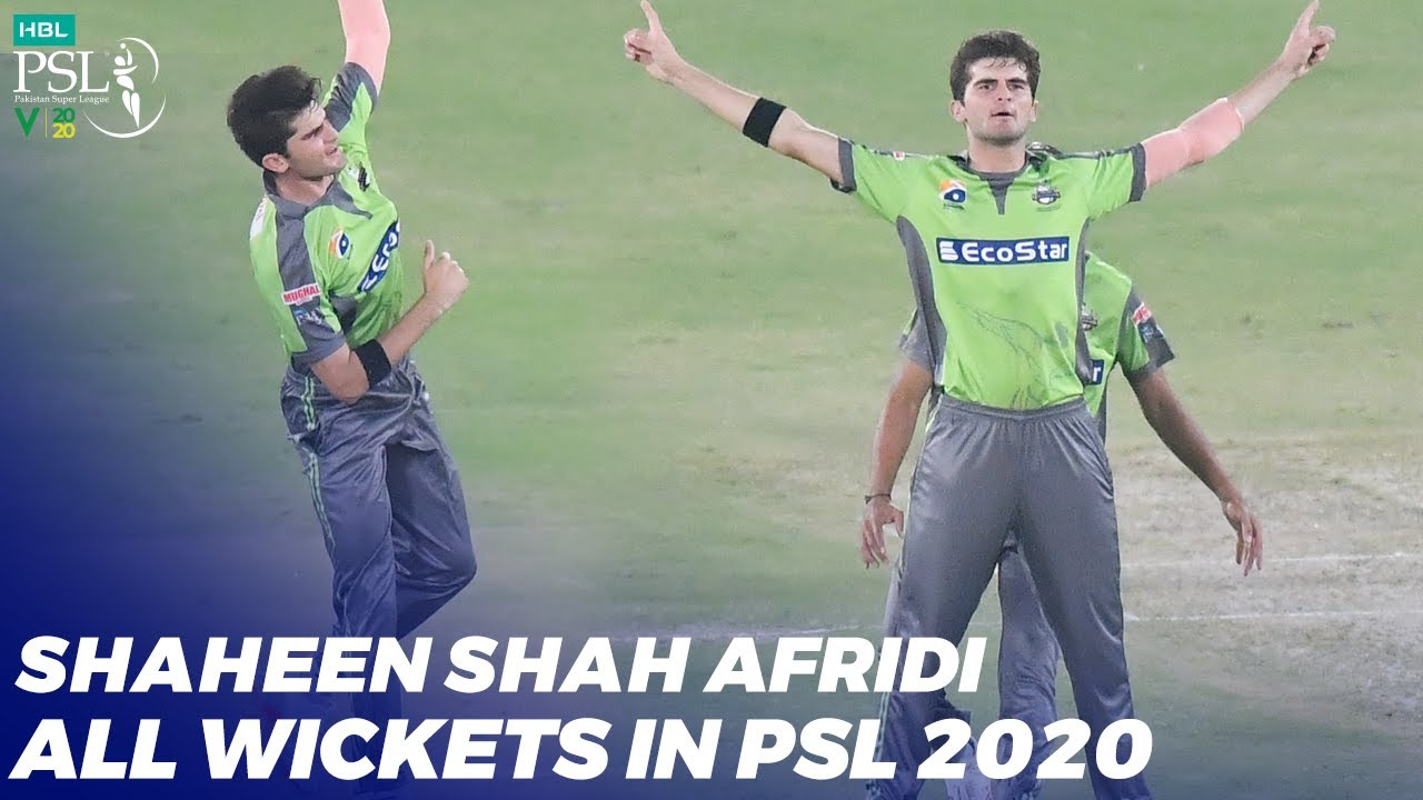 Shaheen Shah Afridi All Wickets In HBL PSL 2020 | MB2T