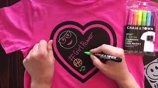 DIY Girl Power T-Shirt