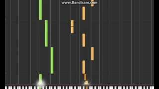 Jeopardy Theme on Synthesia
