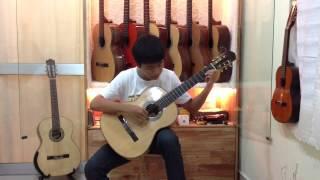 Kiss The Rain - Guitar - Nguyễn Chí Toàn - Cần Thơ