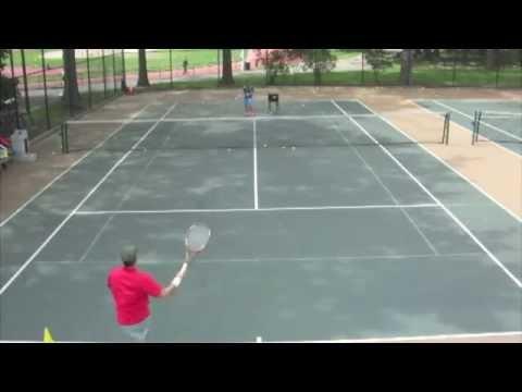 Tennis Lesson Astoria 2014.5.24