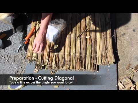 How to cut Palm Fibre - House of Bamboo®