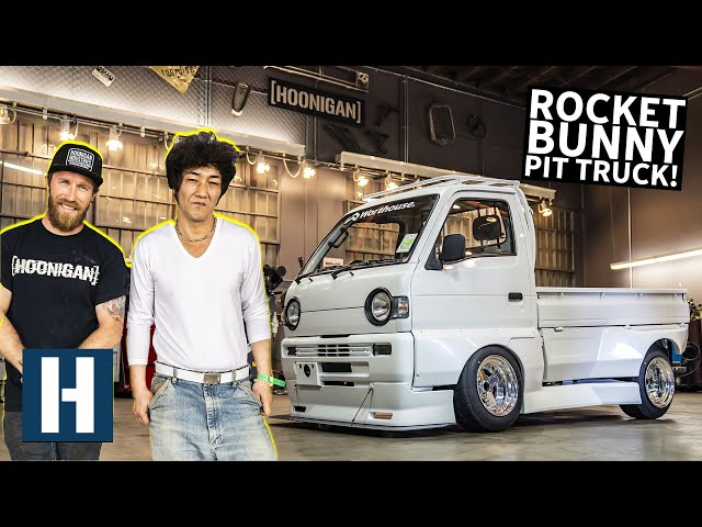 Rotary Pit Truck's ONE of ONE Rocket Bunny Kit Gets Installed, With a Special Guest!