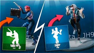 🔥TODOS the * new * dances filtering Fortnite update! (PKZ REVIEW) 😱 [Flopper]