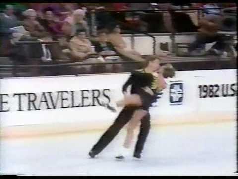 Krohn & Hagan - 1982 United States Figure Skating ...
