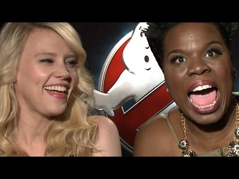 Ghostbusters Cast Talks OMG Moments Interview