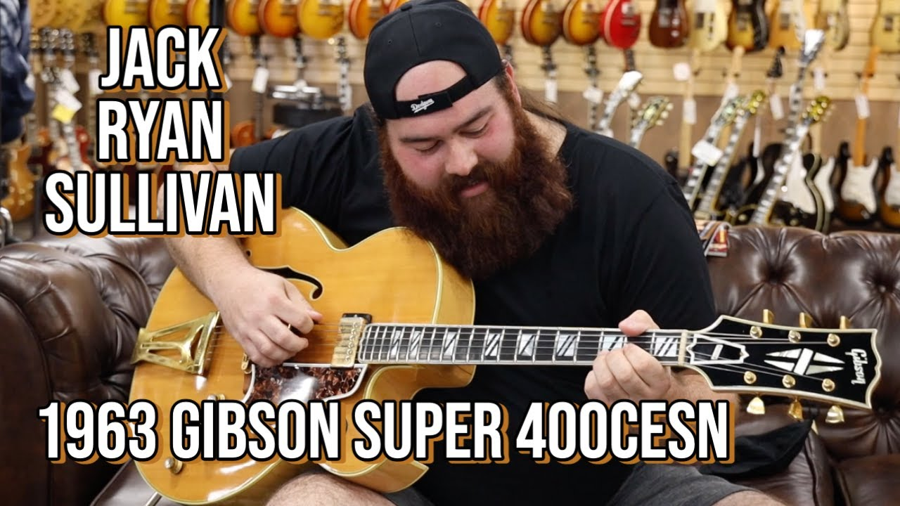 1963 Gibson Super 400CESN | Jack Ryan Sullivan at Norman's Rare Guitars