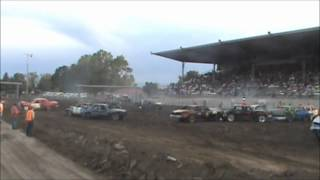Central Montana Demolition Derby Lewistown 2012 Pitmen
