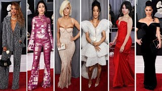 Grammy Awards 2018 | Red Carpet | Full Video | Celebrity Dresses
