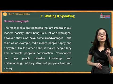 095 - Tiếng anh lớp 10 - Unit 7 - The Mass Media (11/16)