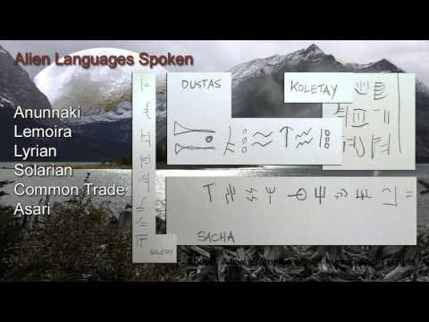 Alien Languages Spoken