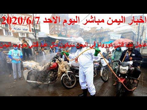 اخبار اليمن مباشر اليوم الاحد 2020/6/7 - YouTube