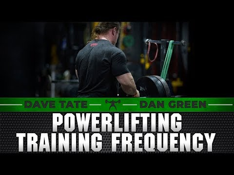 Dan Green on Training Frequency of the Powerlifting Movements | elitefts.com
