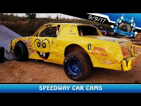 SpongeBob #00 James Jenkins - Bomber - 9-9-17 Fort Payne Motor Speedway - In Car Camera