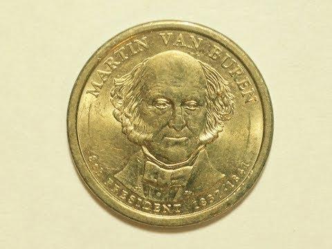 United States Dollar Coin: Martin Van Buren
