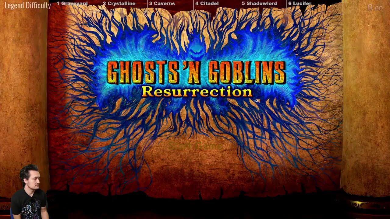 [Speedrun] Ghosts 'n Goblins Resurrection LEGEND in 1:45:12 (1 Loop)