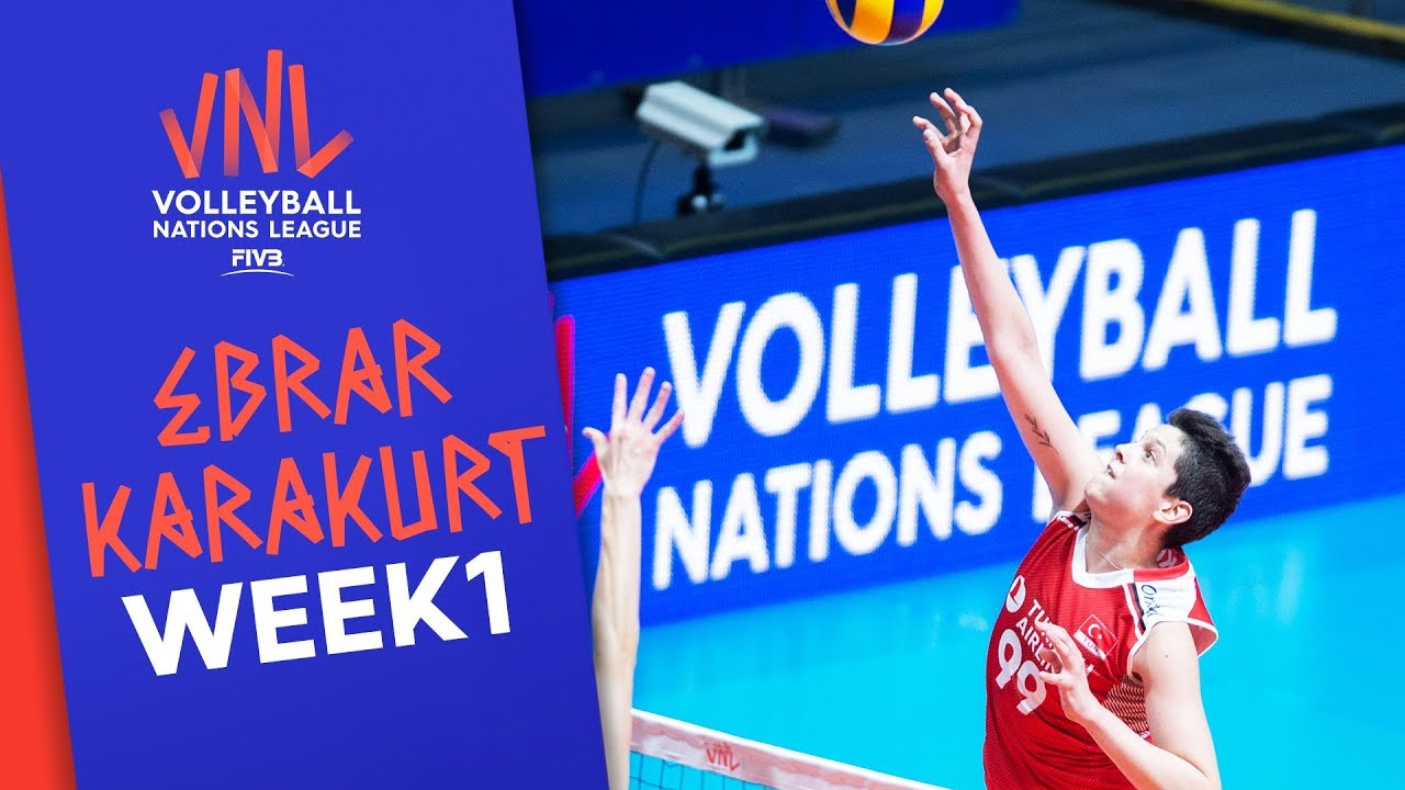Ebrar Karakurt best Plays | #VNLWomen Week 1! | Volleyball Nations League 2019