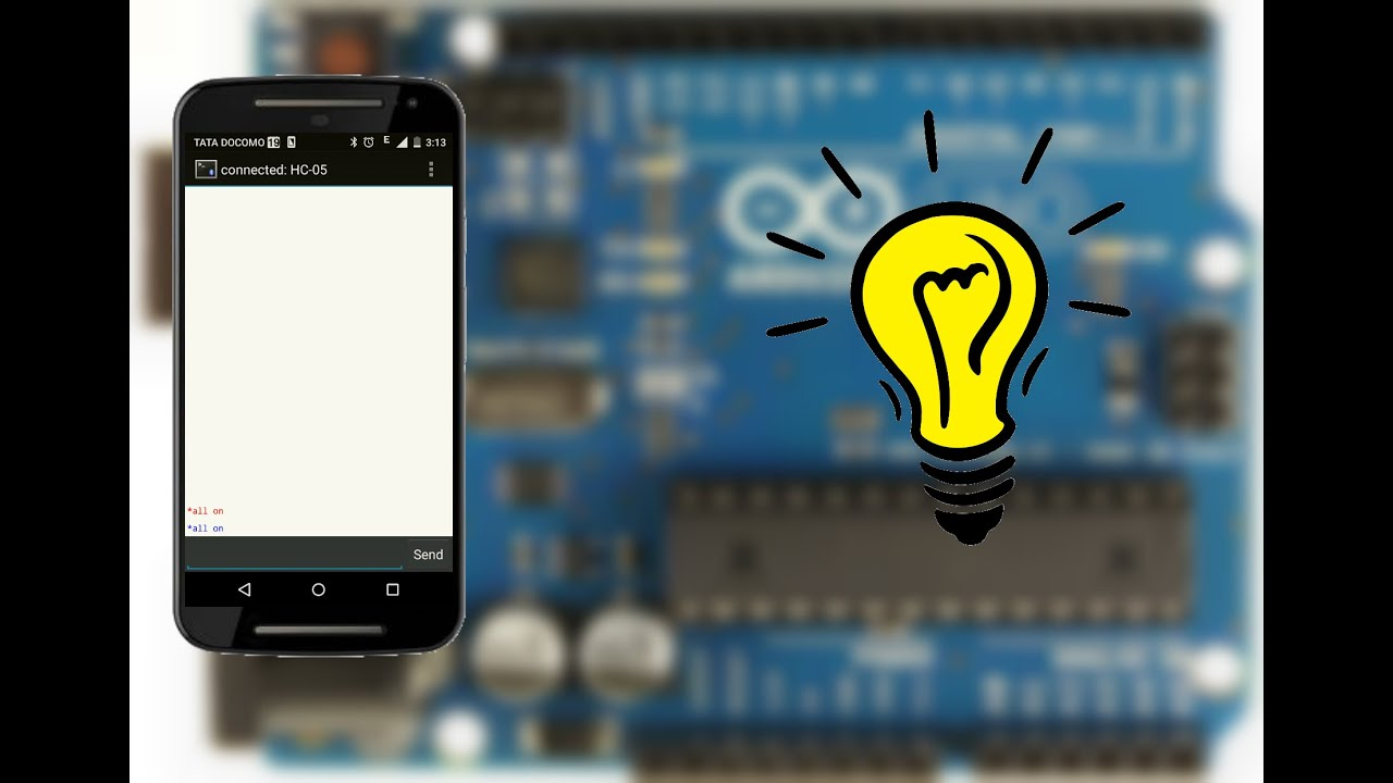Voice Home Automation With Arduino Turn Your Lights On Phone You