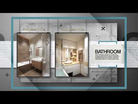 stock royalty free ae template | interior design presentation, Powerpoint templates