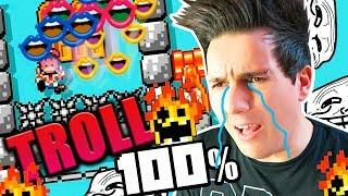 NIVELES TROLL 100% IMPOSIBLES | Super Mario Maker 2