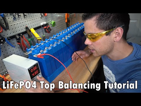 How To Top Balance LiFePO4 Battery Cells Quickly (and Why You Need To Do It)