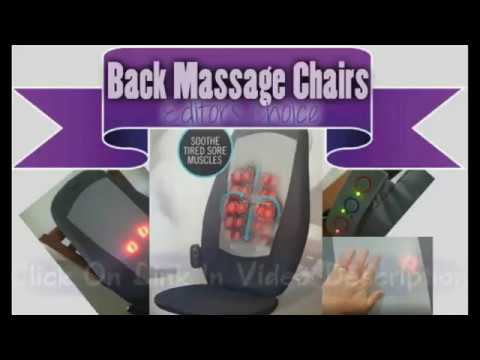 HoMedics Back Massagers Chairs Review