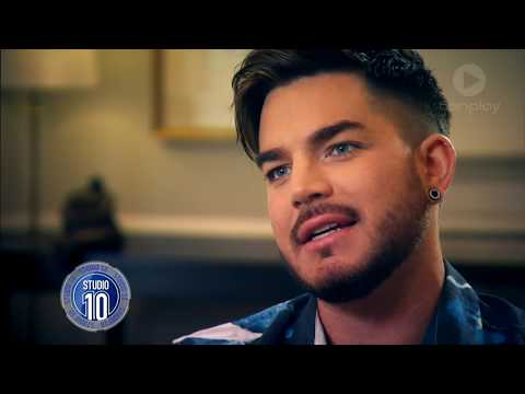 Adam Lambert Talks Freddie Mercury & Touring With Queen | Studio 10