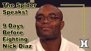 UFC 183'sAnderson Silva On Importance of Diaz Fight, Title Shots, Lost Sponsors + Conor McGregor