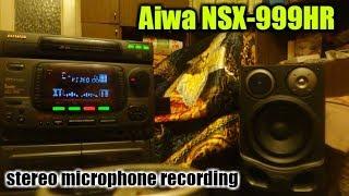 Aiwa NSX 999 HR Japan Professional Stereo Microphone
