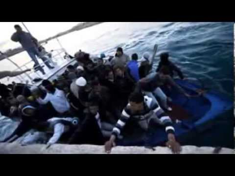 Italian navy rescues 233 migrants from Mediterranean boat
