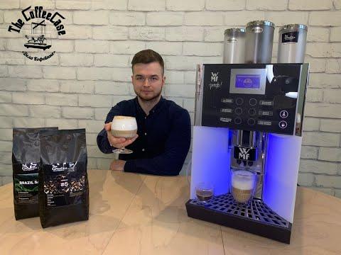 Видео обзор кофемашины WMF 1400 Presto