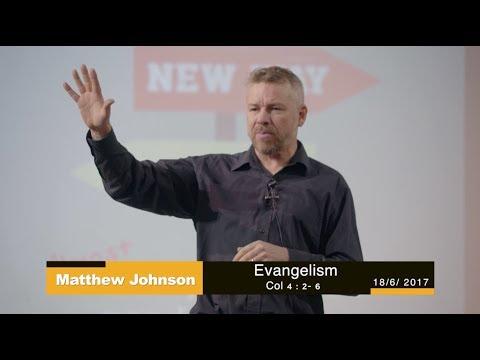 Sermon Sydney. Evangelism -18 June 2017