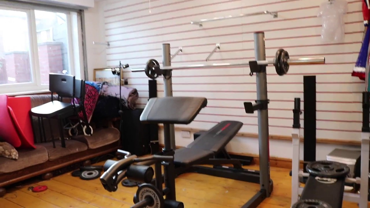 The Best Bench Press Squat Rack Weider Pro 490 Dc Youtube