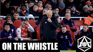 "On the Whistle: Arsenal 1-2 Brighton: ""It just keeps getting worse"" Video"