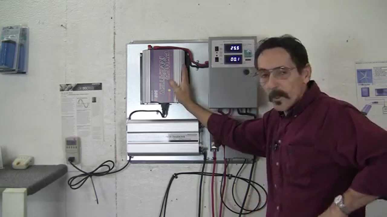 Missouri Wind And Solar Sun Grid Tie Inverter With Battery