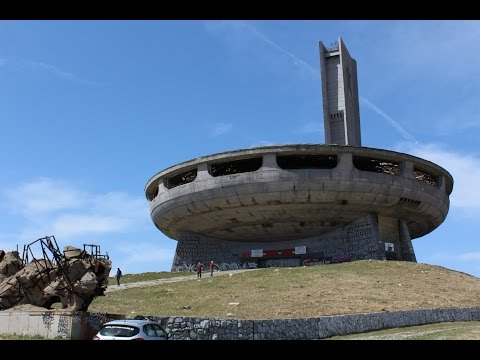 Abandoned Communist Headquarters (UFO Shaped) in BULGARIA