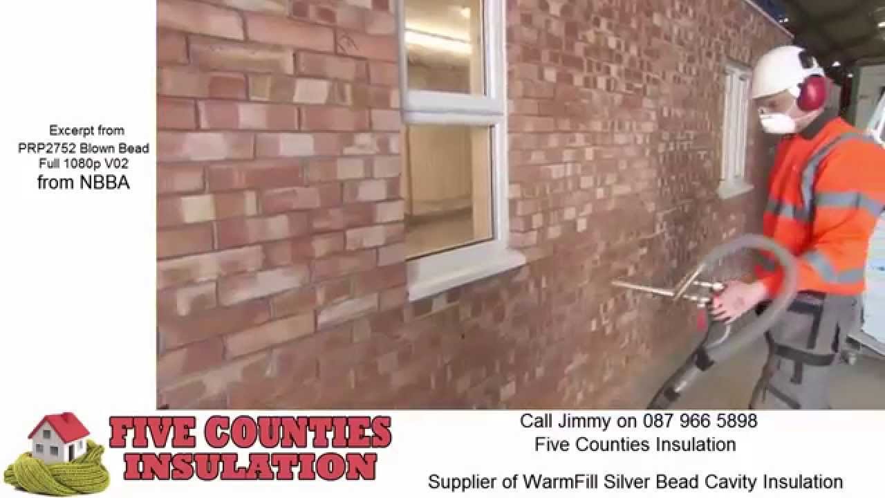 Blown Bead Cavity Wall Insulation Youtube