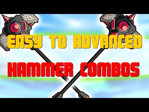 Brawlhalla - Easy to Advanced Hammer combos